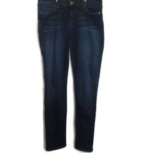 Kut From The Kloth Diana Skinny Jeans Dark Wash